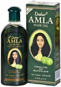 Amla Hair Oil Hair Growth Nourishing Prevent Hair Loss Dabur  200ml