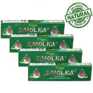 "Siberian Chewing Gum ""Смолка Таёжная"" (Taiga Tar) ""SMOLKA"" 100 % Natural Product"