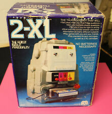 VINTAGE 1970'S  MEGO TOY 2-XL TALKING ROBOT 8 TRACK TAPE PLAYER BOX ONLY NO UNIT