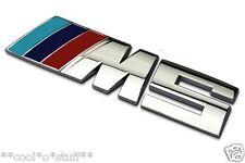 "312- BMW ""///M5"" LOGO MONOGRAM EMBLEM CHROME MPower M Power M 5 Series 5"