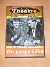 DVD THEATRE / ON PURGE BEBE / FEYDEAU / POIRET ET SERRAULT / TRES BON ETAT
