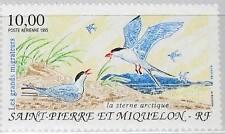 ST. PIERRE MIQUELON SPM 1995 692 C71 Migratory Birds Zugvögel Vögel Fauna MNH