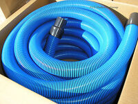 "Carpet Cleaning 50' Truckmount Vacuum Hose 2"" BLUE"
