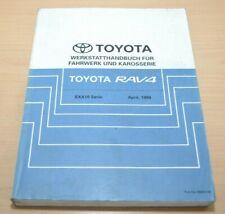 TOYOTA RAV4 SXA10 Fahrwerk und Karosserie 04/1994  Werkstatthandbuch