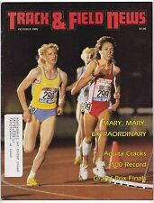 1985 Track and Field News Grand Prix Mary Decker Maricica Puica Zola Budd
