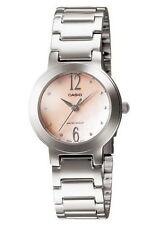 Casio LTP1191A-4A2 Women's Standard Stainless Steel Peach MOP Dial Analog Watch