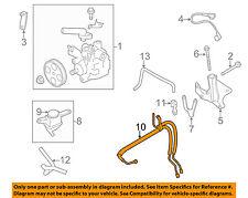 SUBARU OEM 08-14 Impreza Power Steering Pressure Hose 34610FG001