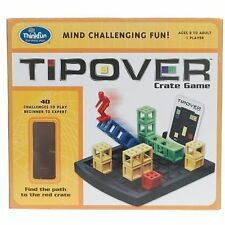 Think Fun - Tipover Tipping Logic Game With 40 Challenges Tip Over 8