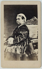 PHOTO CDV : QUEEN VICTORIA REINE - Disderi - albumen 04