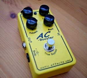 XOTIC AC Booster - Boxed - overdrive - Fantastic Condition - Free P&P