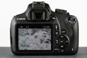 Full Spectrum UV IR Canon 1200D 18MP DSLR Camera T5 UFO Ghost Hunting Gift Astro