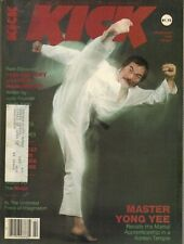 KICK Magazine February 1982 2/82 MARTIAL ARTS MASTER YONG YEE