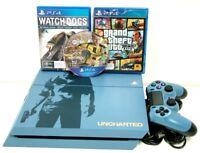 Sony Playstation 4 PS4 1TB Limited Edition CHU-1202B + 3 x Games GTA5 - FIFA 17