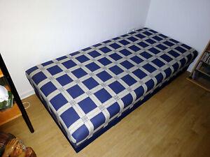 Liege, Liegebett 190 x 90 mit Bettkasten,Gäste-Bett,top Zustand,nur Abholung