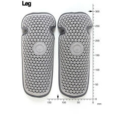 FORCEFIELD CE APPROVED LEVEL 1 L1 GREY UPGRADE INSERT KNEE LEG ARMOUR PADS