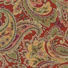 Mill Creek Raymond Waites Paisley DELOS RUBY Home Decor Drapery Sewing Fabric