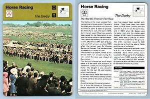 The Derby - Horse Racing - 1977-9 Sportscaster Rencontre Card