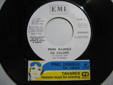 "PINO DANIELE ""Ca calore"" TAVARES - RARO 45 PROMO JB+STICK ORIGINALE!!"