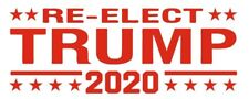 Donald Trump RE-ELECT DONALD TRUMP 2020 self ink RED stock stamp 9013