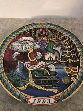 "New ListingBing & Grondahl Christmas Plate Santa Claus Collection 1993 ""Santa's Gifts"""