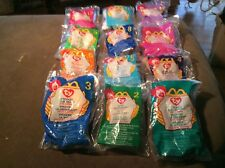 Beanie Babies Happy Meals - Complete Set of 12 - 1999