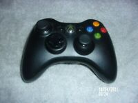 Microsoft Genuine OEM Xbox 360 Wireless Gamepad Controller Black, Model 1403