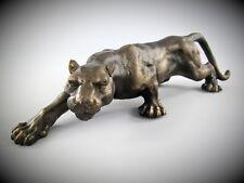 Figur Panter Eisen Dekoration Skulpturen & Statuen Geschenk Vintage Ästhetik
