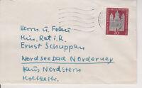 BUND, Mi. 238 Brief mit Tagesstempel Recklinghausen