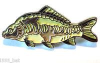 mirror carp Agua Dulce Juego Pez Pesca Deportiva Pescador pin CHAPA DE ESMALTE