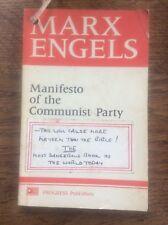 Manifesto of the Communist Party Mark Engels Progress Publishers 1971