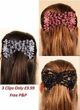 Magic Flower 123 clip EZ comb Different Hair style (3 for £ 9.99)