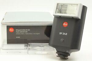 """""""Top Mint+++"""" Leica SF 24D Shoe Mount Flash Black 14444 M9 M8 M7 M6 TTL JAPAN"""
