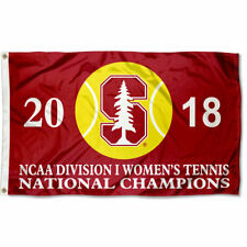Stanford Cardinal Womens Tennis 2018 National Champions Flag Large 3x5
