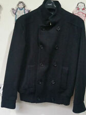 H&M Wool Collared Double Breasted Coats & Jackets for Men