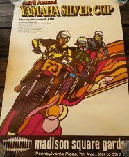 Vtg Orig, Yamaha Silver Cup 1973  motorbike, motorcycle, Poster MSG
