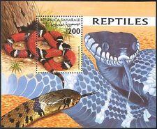 SAHARA 1998 latte Serpente Serpenti/Rettili// Animali/Fauna Selvatica/NATURA 1 V M/S (b8298)