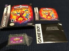 Power Rangers: Ninja Storm (Nintendo Game Boy Advance, 2003) Complete