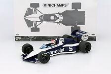 Nelson Piquet Brabham BT52 #5 Champion du monde Formule 1 1983 1:18 Minichamps