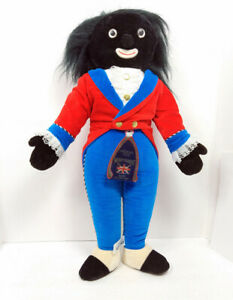 """MerryThought Black  18"""" Doll England Hand Made Britain Soft Toy w/ Tag FREE Ship"""