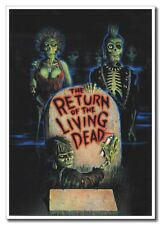 "Return Of The Living Dead 12""x8"" Horror Zombie Movie Silk Poster Art Print"