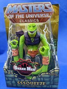 Masters of the Universe Classics MOTUC Sssqueeze New in Box