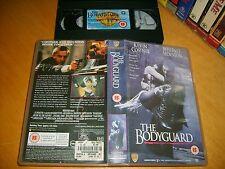 VHS *THE BODYGUARD* 1992 Whitney Houston Kevin Costner Classic Drama U.K. Issue