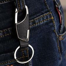 Chain Ring Keyfob Gift Fashion Gl Universal Men Metal Car Keyring Keychain Key