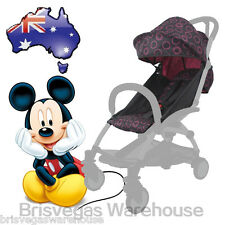 Canopy Hood Seat Pad Liner Set For Most Compact Stroller