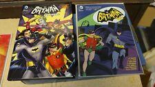 Lot of 2 Batman comic books - Batman The TV Stories & Batman '66, Vol. 1