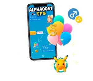 Pokemon Shiny Pikachu Flying Balloon 5th Anniversary Registered Trade MaleFemale