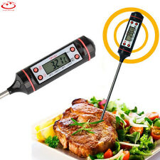 Digital Probe Thermometer Food Temperature Sensor for Cooking BBQ Meat Steak Jam