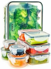 Food Storage Containers With Lids Airtight Leak Proof Easy Snap Lock 18piece Set