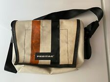 FREITAG Lassie - Messenger Bag - White Black & Orange