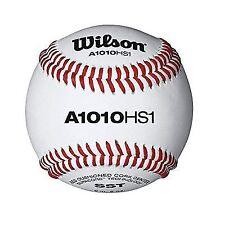 Wilson SST HS1 Baseball - 12 Piece, White